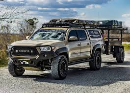 3rd gen overland with trailer   Tacomas and gear   Pinterest ...