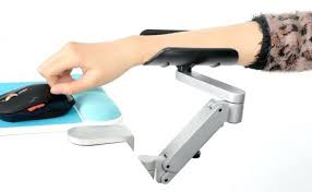 elbow rest for computer desk armrest pads lift hand bracket