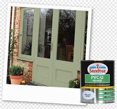 window spray painting door frames