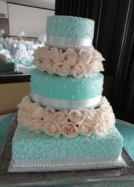 Wedding Cakes Light Blue And White Classic White Wedding Cake