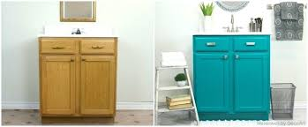 Painting bathroom vanity before and after Builder Grade Painting Bathroom Vanity Before And After Painting Bathroom Vanity Before And After With Vanities Image Bathroom Home Design Ideas Painting Bathroom Vanity Before And After Vanity Just Fastcashptcinfo