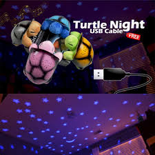 turtle star night sky with free usb cable