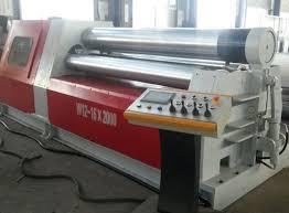 sheet metal roll cnc hydraulic plate rolling machine sheet metal roller machine
