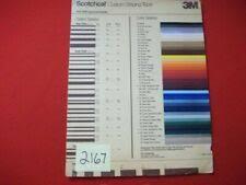 Scotchcal Striping Tape Chart 3m Scotchcal High Performance Custom Striping Tape 77135