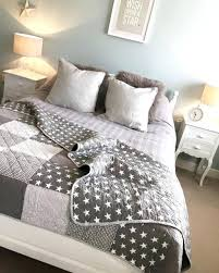 grey patchwork quilt double grey star patchwork quilt blue and grey patchwork quilt