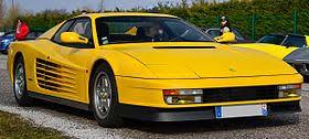 The 512tr responded far better when driven hard, and the f512m was finer still. Ferrari Testarossa Wikipedia