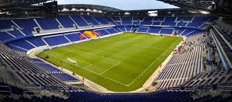 red bull nyc office. inside empty red bull arena new york nyc office t