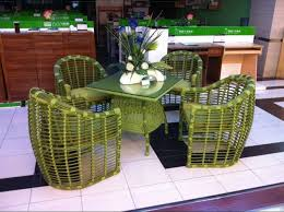 stylish outdoor furniture. Bamboo Chairs Balcony Rattan Stylish Outdoor Furniture Green Leisure Suit Patio