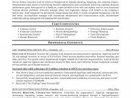 Finance Resume Templates Director Of Finance Resume Design