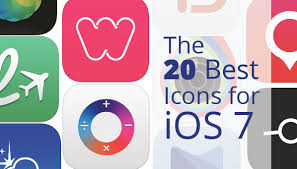 best app icons the 20 best ios 7 icons ui palette