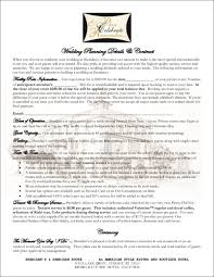 wedding planning contract templates 9 wedding contract samples templates free word pdf format