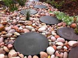 before laying stepping stones
