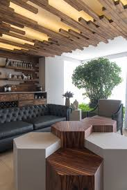 Living Room With A Bar The Decorative Ceiling Design In This Living Room Will Get Your