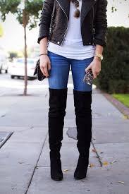 Best 25+ Thigh high boots outfit ideas on Pinterest | Thigh high ...