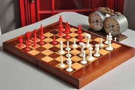 chess board wooden box type