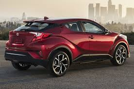 2018 toyota electric car. exellent toyota 2018 toyota chr rear quarter right photo and toyota electric car