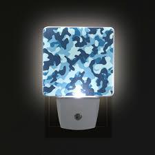 Blue Plug In Night Light Alaza Led Night Light With Smart Dusk To Dawn Sensor