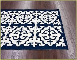 blue damask area rug