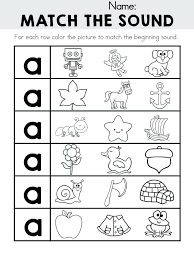 Letter A Worksheets Letter A Puzzle Printable Letter Sound ...