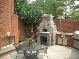 Outdoor Kitchen Fireplace Outdoor Kitchen Fireplaces Creative Fireplaces Design Ideas