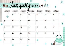 Calendar Free Downloads January 2018 Printable Colorful Calendar Free Download Colorful Zone