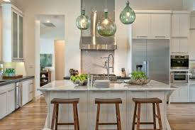 pendants lighting in kitchen. Pendant Lights For Kitchen Islands Globe Green Clear Glass With Yellow Bulb Hanging Dining Pendants Lighting In