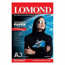 <b>Термотрансферная бумага Lomond A3</b> Ink Jet Transfer Paper for ...