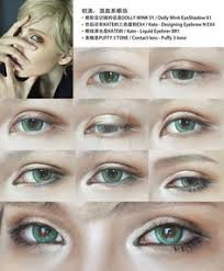 cosplay eyes makeup for male character by mollyeberwein anime eye makeup male makeup diy