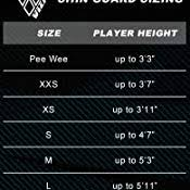 Shin Pad Size Chart Vizari Malaga Soccer Shin Guards For Kids Soccer Gear For Boys Girls Protective Soccer Equipment Adjustable Straps
