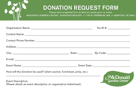 Donation Request Form Selimtd