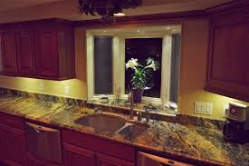 undercabinet kitchen lighting. Spellbinding Under Counter Lighting Kitchen Cabinets Alongside Double Hung Window With Glass Replacement Above Commercial Stainless Steel Sinks And Pfister Undercabinet L
