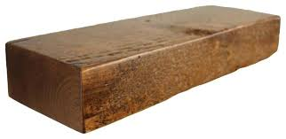 rustic floating mountable wood shelf 3 thick x 7 deep pine wall shelves medium wooden
