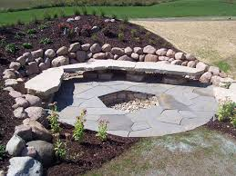 Stacked Stone Fire Pit flagstone fire pit roselawnlutheran 1422 by xevi.us
