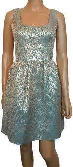 Aidan Mattox Multicolor New Embellished Fit And Flare Short Cocktail Dress Size 6 S