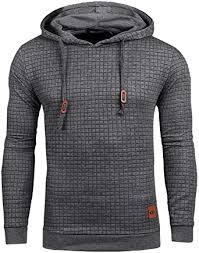 YuKaiChen Men's Casual Pullover Hoodies Long ... - Amazon.com