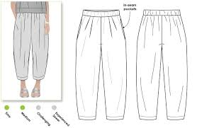 Pattern Pants Extraordinary Ethel Designer Pant Style Arc