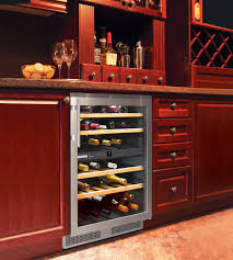 Under Cabinet Wine Racks Refrigerator With Built In Wine Cooler 6 Glide Out Wine Racks 72