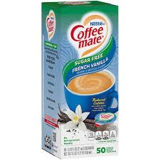 This was always my staple coffee creamer. Nestle Coffee Mate Sugar Free French Vanilla Liquid Coffee Creamer Singles Shop Coffee Creamer At H E B