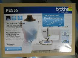 Brother Free Embroidery Designs Usa Brother Pe535 80 Embroidery Machine