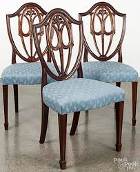 pictures of furniture styles. hepplewhite style chairs with shield backs squared legs and spade feet pictures of furniture styles
