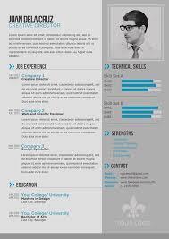 Modern Simple Resume Template 55 Best Of Modern Resume Templates 2015 Image