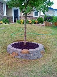 10 best retaining wall around trees