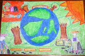 to care for the planet is to care for my future rdquo grade  jasmin uy drawing