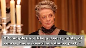 Dowager Countess Quotes Unique Try Out The Best Putdowns From Downton Abbey's The Dowager Countess