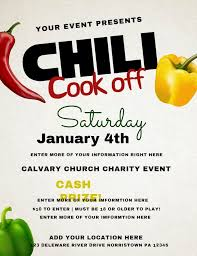 chili cook off poster. Wonderful Poster Printable Chili Cook Off Posterflyer Template Click To Customize On Poster