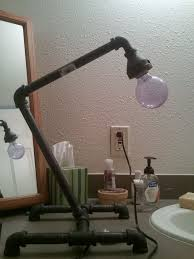 introduction plumbing pipe desk lamp