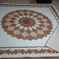Craft Projects: Giant Dahlia Quilt & Giant Dahlia Quilt Adamdwight.com