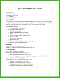 Resume Template Resume Template For Banking Jobs Banking Resume