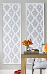showcase fun wallpaper patterns by framing strips in decorative moulding lowe s creative ideas