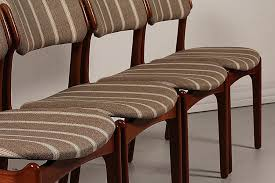 modern high back chairs for living room lovely mid century od 49 teak dining chairs by